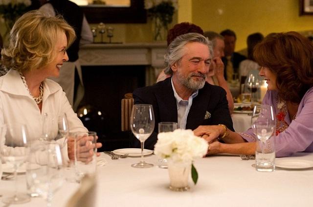 Robert DeNiro a jeho filmové partnerky Susan Sarandon a Diane Keaton. Zdroj: Bontonfilm