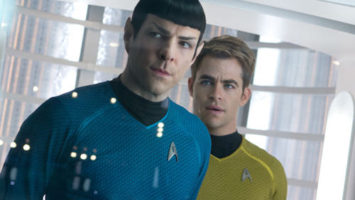 FOTO: Zachary Quinto Chris Pine Star Trek Into Darkness