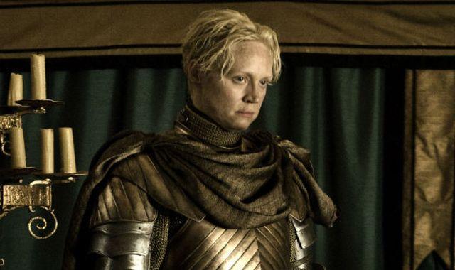 FOTO: Gwendoline Christie v seriálu Hra o trůny
