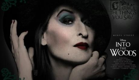 Meryl Streepová v roli zlé čarodejnice v Into the Woods. Zdroj: distributor filmu