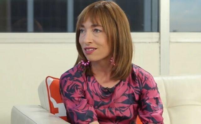 FOTO: Naomi Grossman v talk show ClevverNews