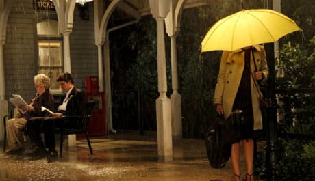 Diváci konečně poznali, kdo se skrývá pod žlutým deštníkem. Zdroj: CBS