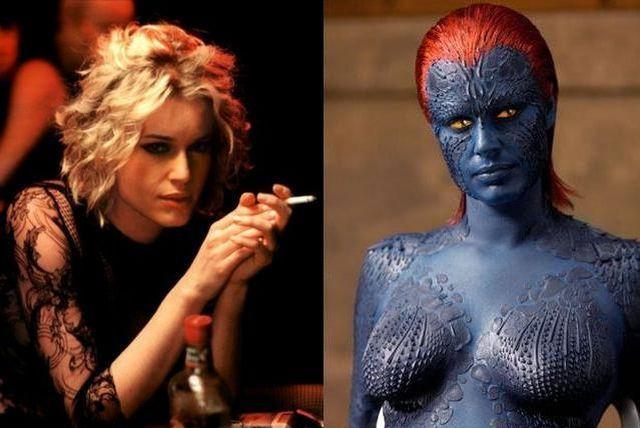 FOTO: Rebecca Romijn ve filmu Femme Fatale a v sáze X-Men