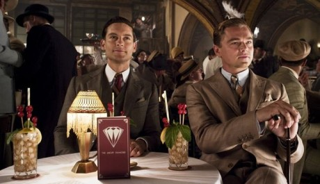 FOTO: Tobey Maguire a Leonardo DiCaprio ve filmu Velký Gatsby