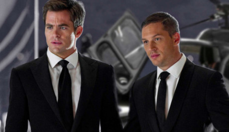 FOTO: Chris Pine a Tom Hardy