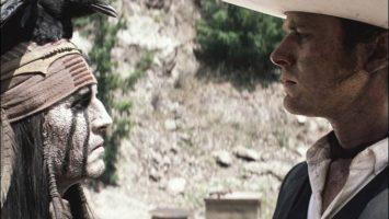 FOTO: Lone Ranger Johnny Depp Arnie Hammer