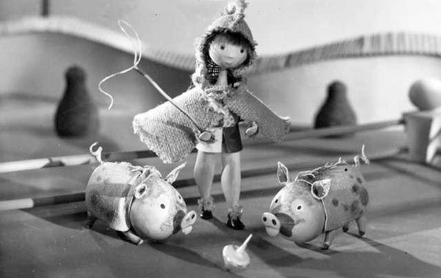 Film Hermíny Týrlové na náměty pohádky Hanse Christiana Andersena - Pasáček vepřů. Zdroj: Presskit pořadatele