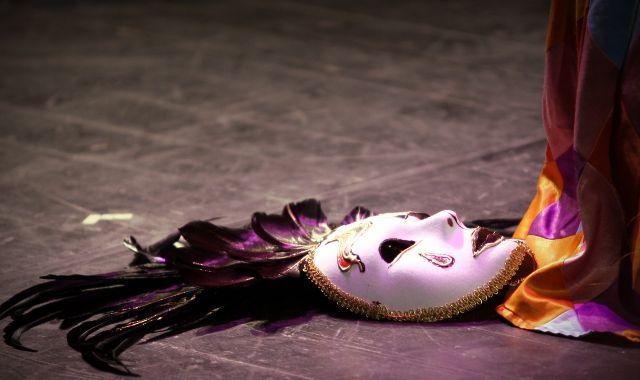 FOTO: Divadelní maska