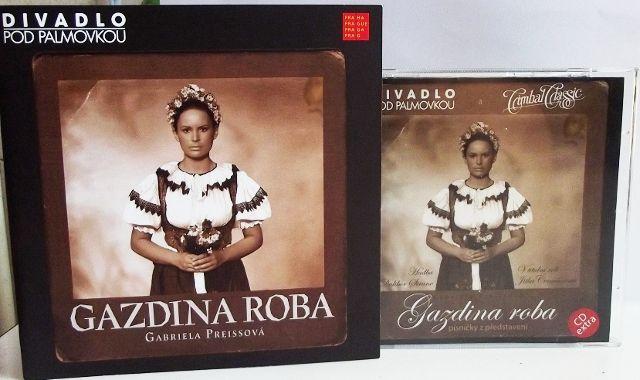 FOTO: Program a CD: Gazdina roba Divadla pod Palmovkou