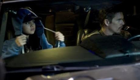 FOTO: Getaway - Ethan Hawke a Selena Gomez