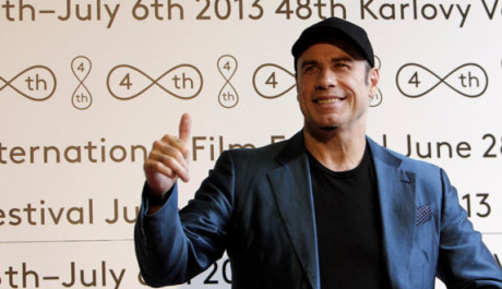 John Travolta na Mezinárodním filmovém festivalu v Karlových Varech. Zdroj: Film Servis Festival Karlovy Vary
