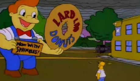 Lard Lad Tries - Simpsonovi