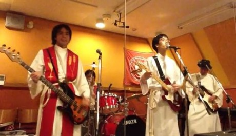 Japonská mnišská kapela Boxi Reprofoto: Youtube