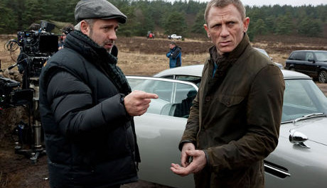 Sam Mendes directing Bond