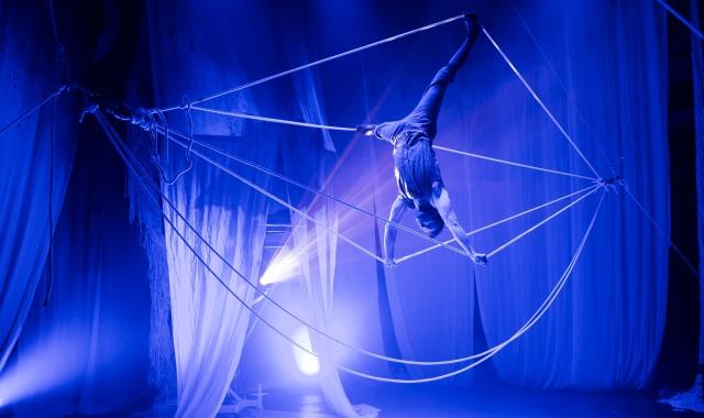 Foto: Knitting Peace, Cirkus Cirkör