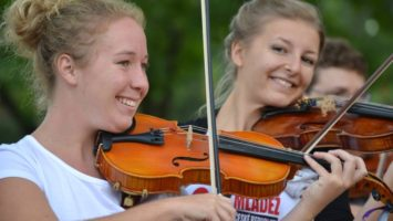 FOTO: Orchestr Hudební mládeže