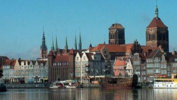 FOTO: Polské město Gdansk