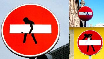 FOTO: vandalismus