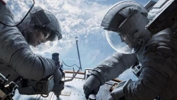FOTO: Sandra Bullock George Clooney Gravity