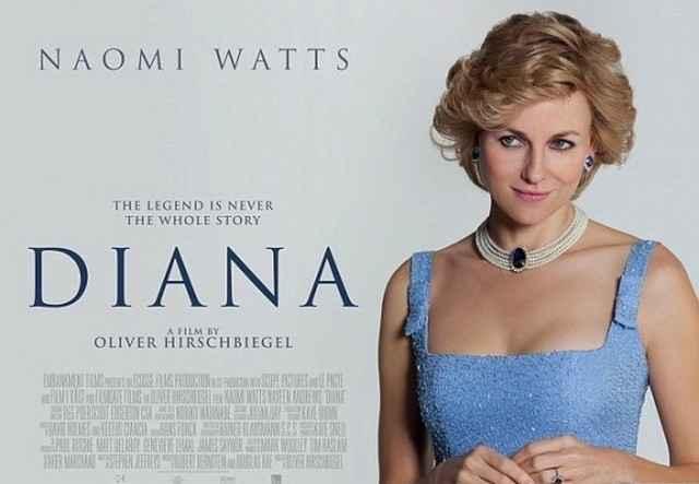Plakát k filmu o princezně Dianě, v hlavní roli s australskou hvězdou Naomi Watts. Zdroj: Bontonfilm