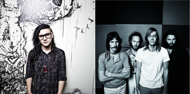 FOTO: Skrillex & The Doors