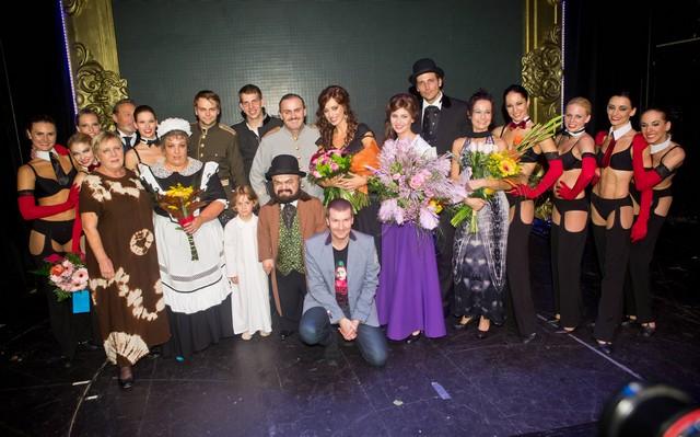 Herci i tanečníci dokázali, že do své práce dávají vše. Autor: Martin J. Polák