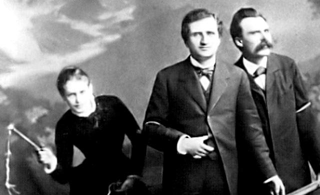 FOTO: Salomé, Rée, Nietzsche