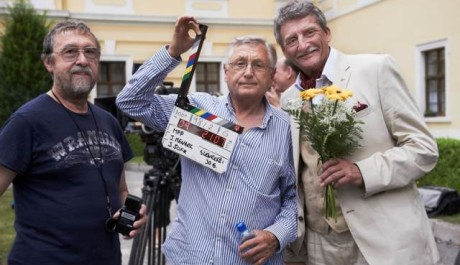 FOTO: Jiří Menzel na natáčení Donšajnů
