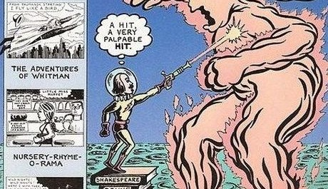 FOTO: Časopis Poetry Comics od Davea Morice.