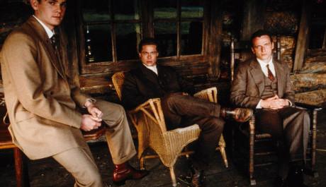 Brad Pitt, Aidan Quinn a Henry Thomas. Zdroj: Columbia TriStar