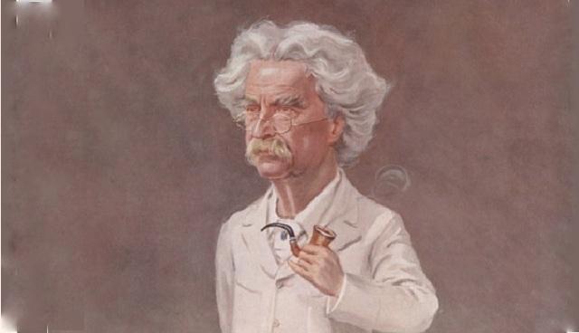 Karikatura Marka Twaina