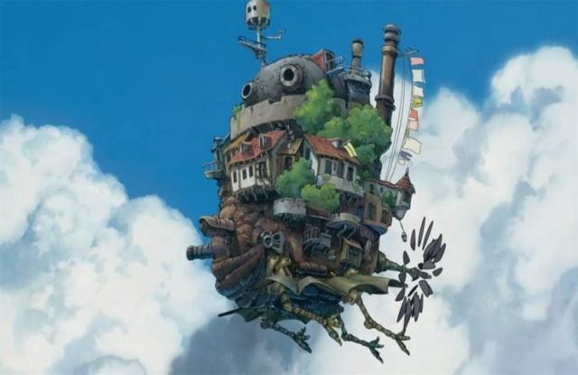 FOTO: zamek v oblacich