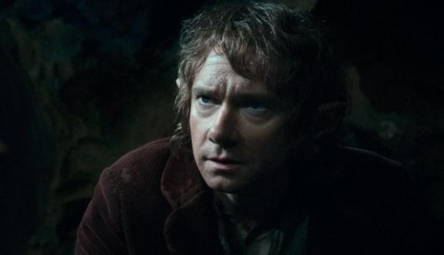 FOTO: Martin Freeman Hobbit Desolation of Smaug