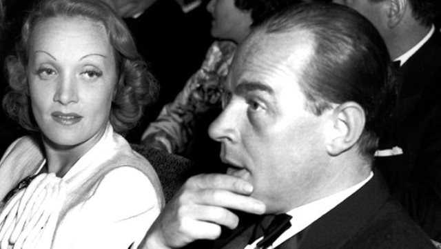 FOTO: Erich Maria Remarque, Marlene Dietrich