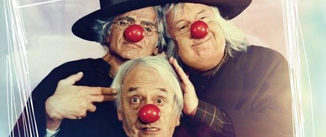 Trojice mimů moc dobře ví, že život není legrace. Zdroj: Falcon