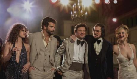 FOTO: Amy Adams Bradley Cooper Jeremy Renner Christian Bale Jennifer Lawrence American Hustle