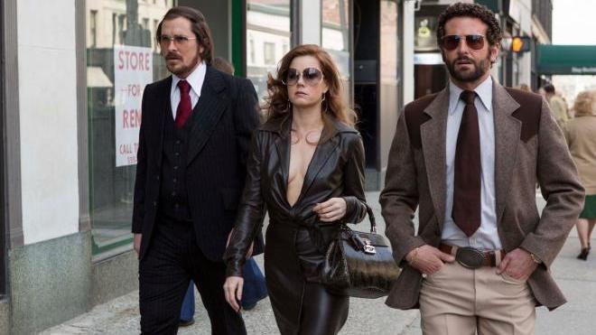FOTO: Christian Bale Amy Adams Bradley Cooper American Hustle