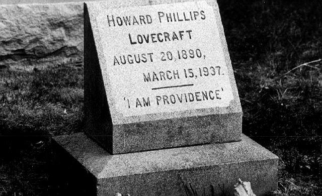 FOTO: Hrob H. P. Lovecrafta