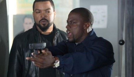 FOTO: Ice Cube Kevin Hart Ride Along