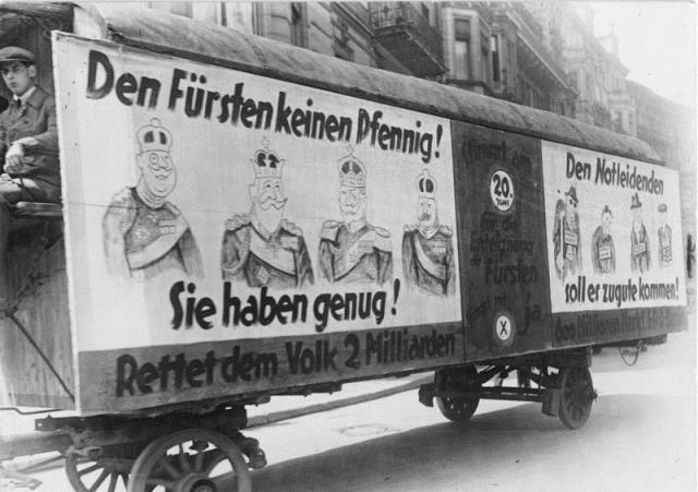 FOTO: Volební propaganda Výmarská republika 1926