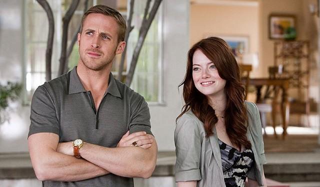 FOTO: Bláznivá, zatracená láska - Ryan Gosling a Emma Stone - Warner Bros. CZ