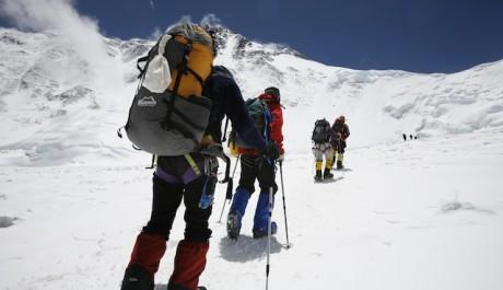 Foto: Everest - climbers 1