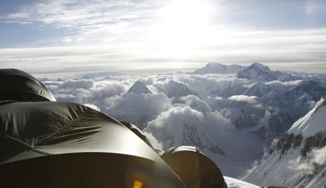 Foto: Everest - north col tents