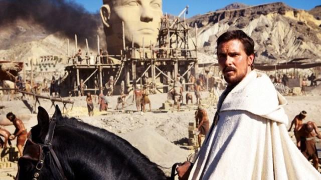 Christian Bale v roli Mojžíše vede Izraelity do zaslíbené země. Zdroj: CinemArt