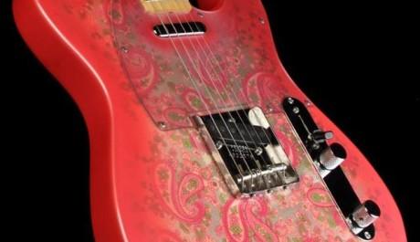 FOTO: Fender Telecaster Paisley Reissue