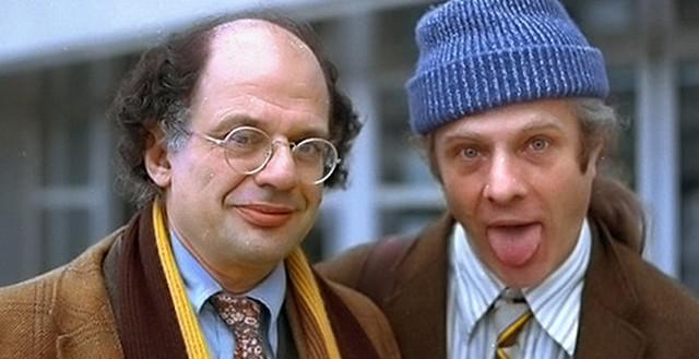 FOTO: Ginsberg se svým partnerem Peterem Orlovskym