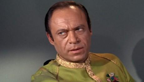 Role komodora Mendeze ze seriálu Star Trek se stala jeho nejznámější rolí. Zdroj: distributor seriálu