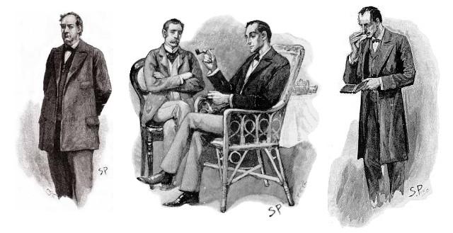 OBR: Původní kresby Sherlocka Holmese