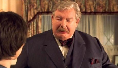 Britský herec Richard Griffiths se proslavil hlavně rolí strýce Vernona ze ságy o Harrym Potterovi. Zdroj: Warner Bros. CZ