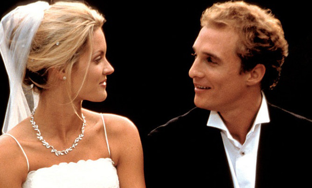 FOTO: Svatby podle Mary -  Bridgette Wilson a aMatthew McConaughey - Columbia Pictures